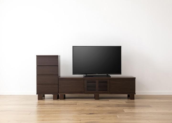 ルーバー・テレビボードv02 H v01 セット:画像17