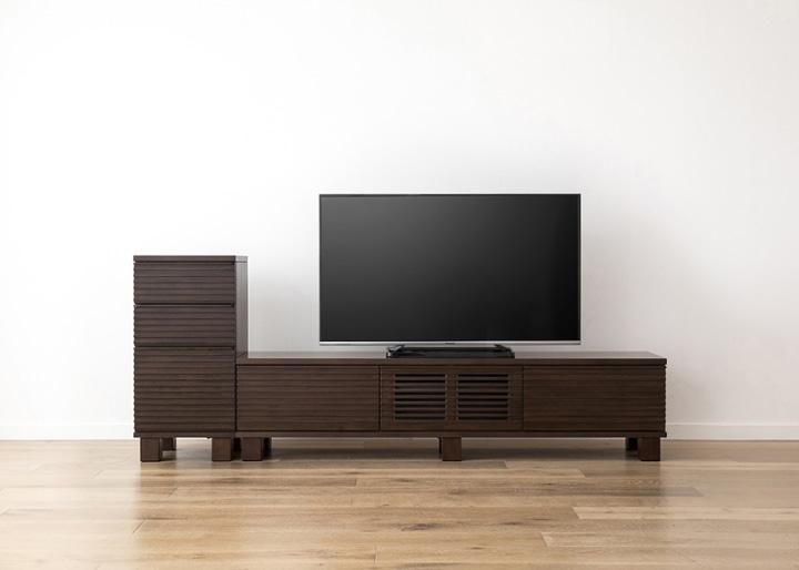ルーバー・テレビボードv02 H v01 セット:画像18