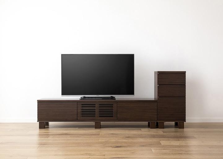 ルーバー・テレビボードv02 H v01 セット:画像19
