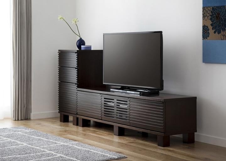 ルーバー・テレビボードv02 H v01 セット:画像2