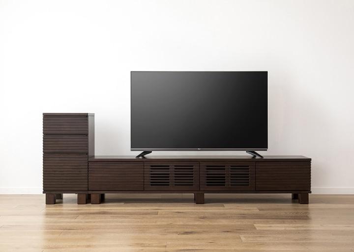 ルーバー・テレビボードv02 H v01 セット:画像21