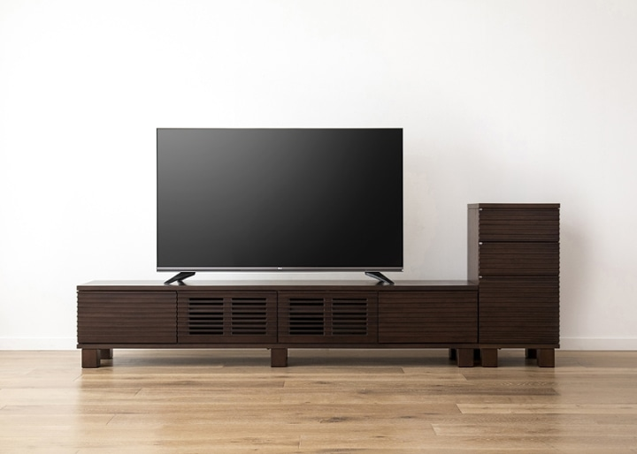ルーバー・テレビボードv02 H v01 セット:画像22