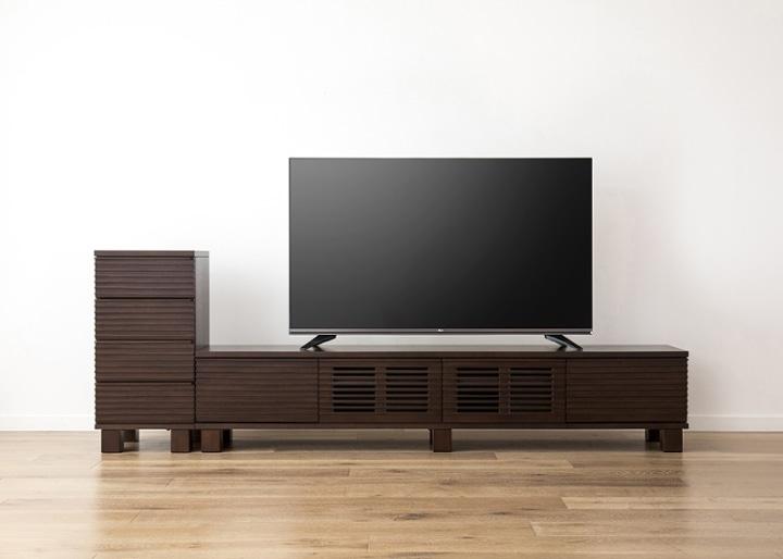 ルーバー・テレビボードv02 H v01 セット:画像23
