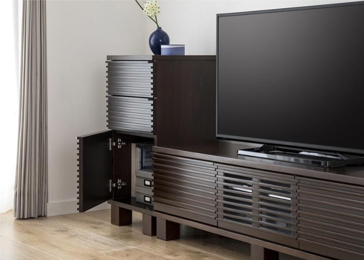 ルーバー・テレビボードv02 H v01 セット:画像4