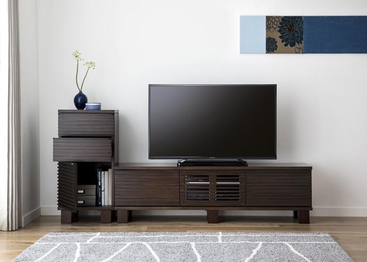 ルーバー・テレビボードv02 H v01 セット:画像5