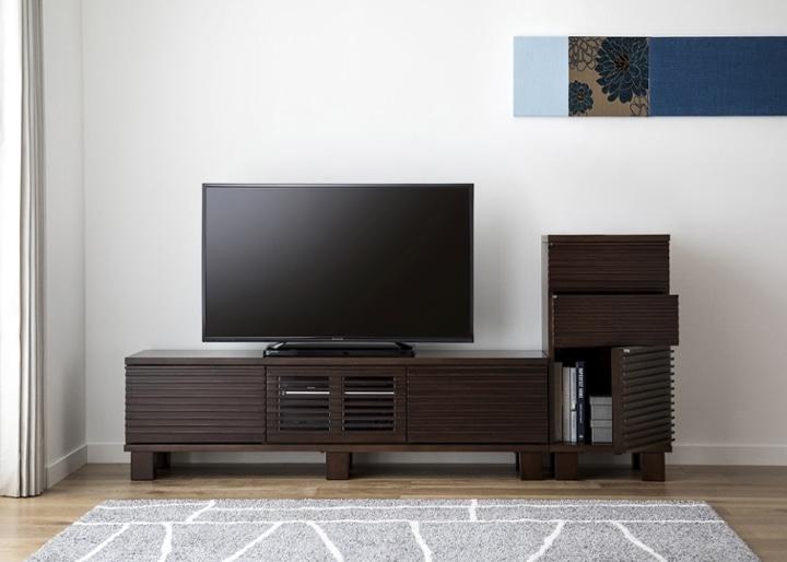 ルーバー・テレビボードv02 H v01 セット:画像6