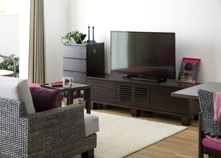 ルーバー・テレビボードv02 H v01 セット:画像8