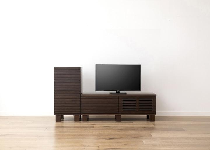 ルーバー・テレビボードv02 H v01 セット:画像9