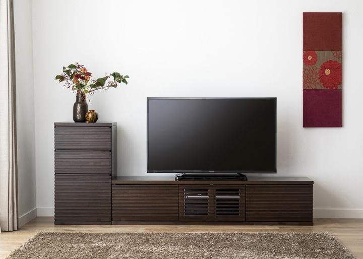 ルーバー・テレビボードv02 L v01セット:画像1