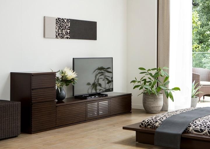 ルーバー・テレビボードv02 L v01セット:画像10