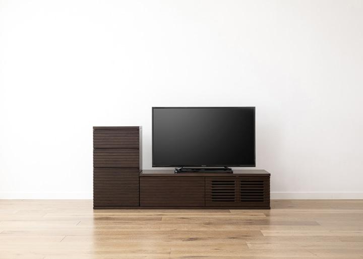 ルーバー・テレビボードv02 L v01 セット:画像13
