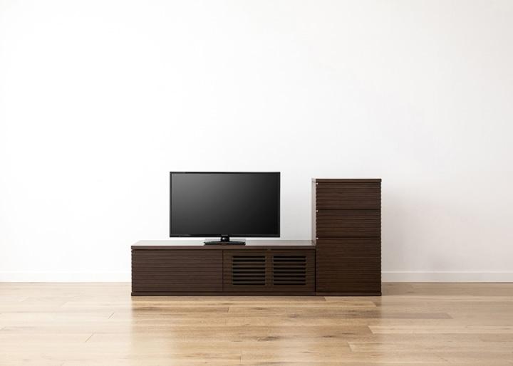 ルーバー・テレビボードv02 L v01 セット:画像14