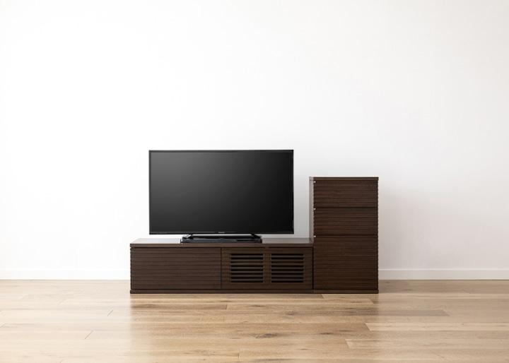 ルーバー・テレビボードv02 L v01 セット:画像15
