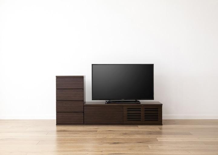 ルーバー・テレビボードv02 L v01 セット:画像17