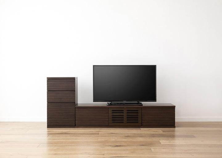 ルーバー・テレビボードv02 L v01 セット:画像18