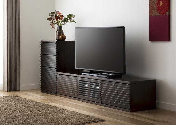 ルーバー・テレビボードv02 L v01セット:画像2