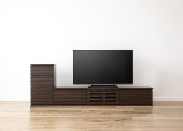 ルーバー・テレビボードv02 L v01 セット:画像21