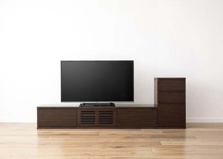 ルーバー・テレビボードv02 L v01 セット:画像22