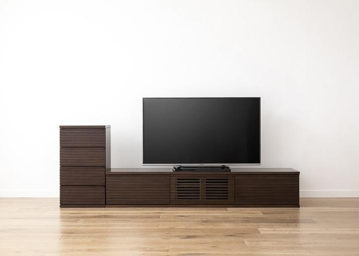 ルーバー・テレビボードv02 L v01 セット:画像23