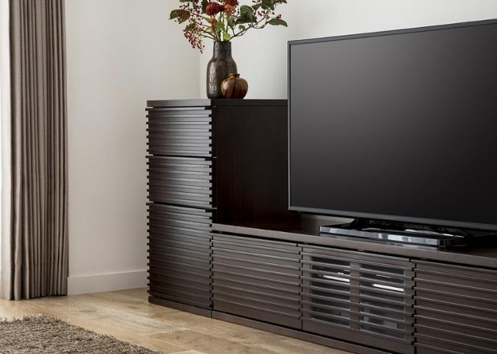 ルーバー・テレビボードv02 L v01セット:画像3