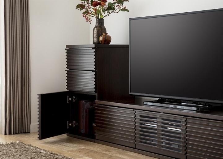 ルーバー・テレビボードv02 L v01セット:画像4