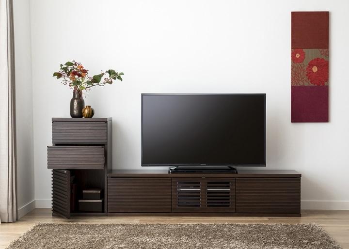 ルーバー・テレビボードv02 L v01セット:画像5