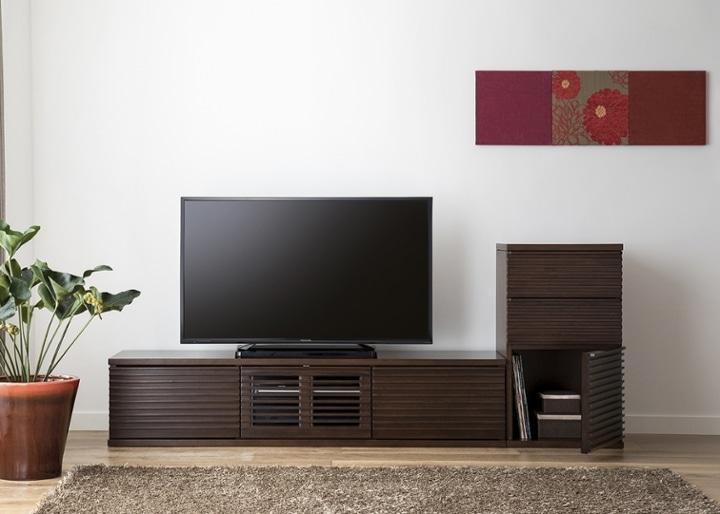 ルーバー・テレビボードv02 L v01セット:画像6
