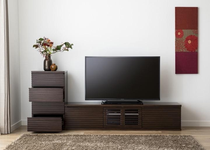 ルーバー・テレビボードv02 L v01セット:画像7