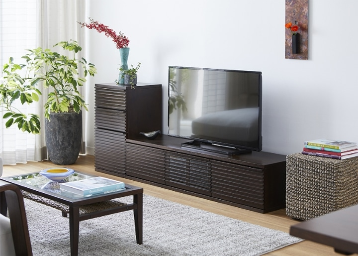 ルーバー・テレビボードv02 L v01セット:画像8