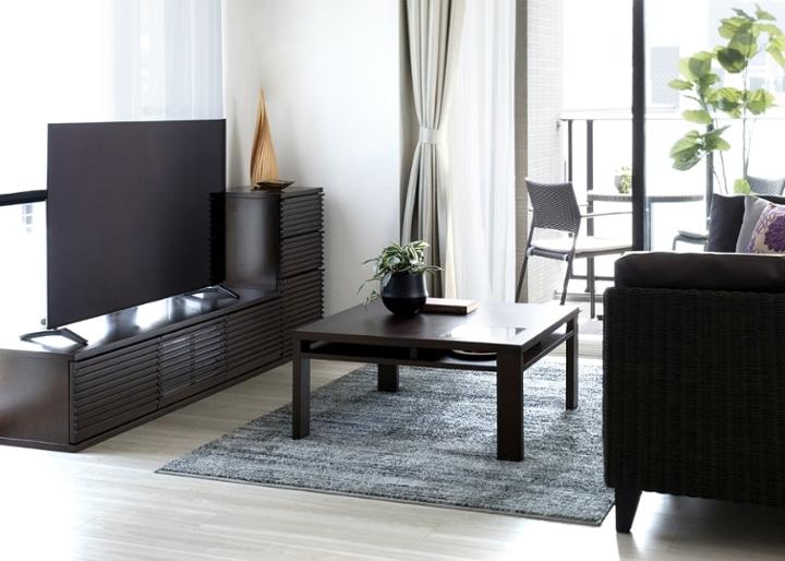 ルーバー・テレビボードv02 L v01セット:画像9