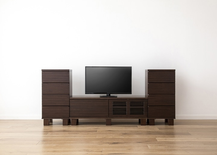 ルーバー・テレビボードv02 H v02 セット:画像10