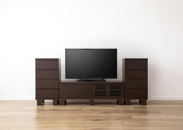ルーバー・テレビボードv02 H v02 セット:画像11