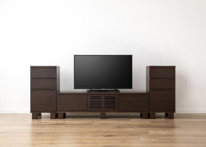 ルーバー・テレビボードv02 H v02 セット:画像12
