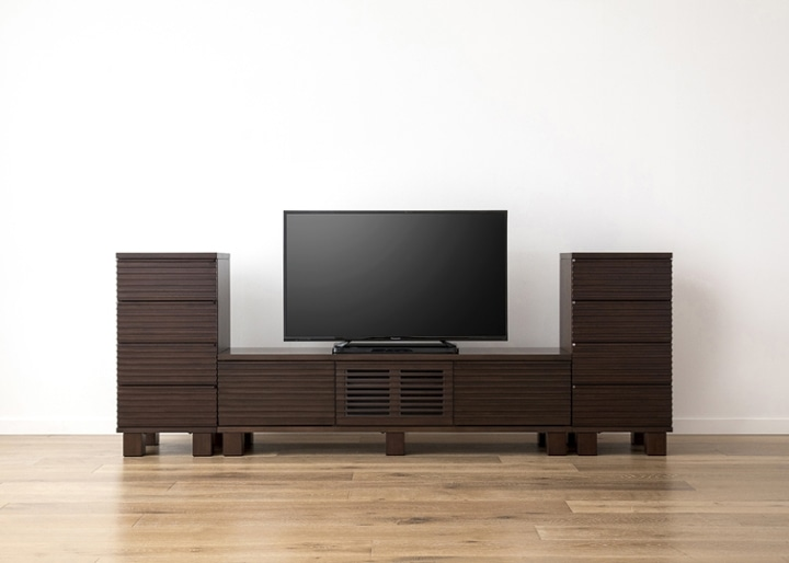 ルーバー・テレビボードv02 H v02 セット:画像13