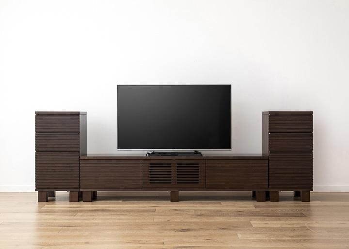 ルーバー・テレビボードv02 H v02 セット:画像14