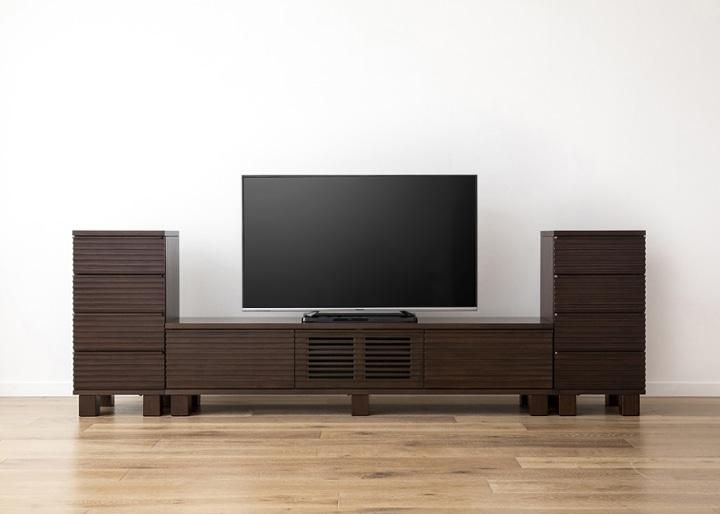 ルーバー・テレビボードv02 H v02 セット:画像15
