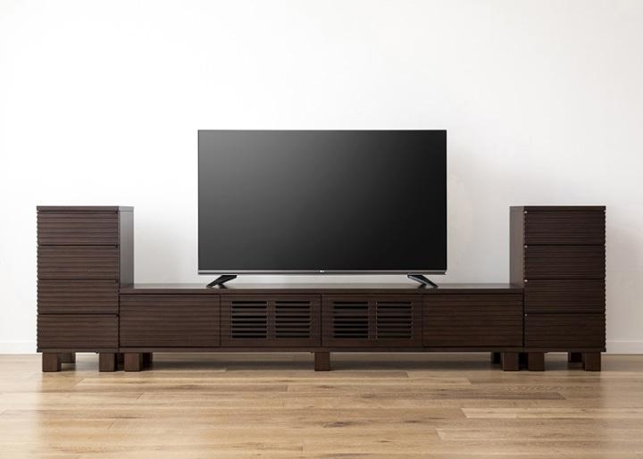 ルーバー・テレビボードv02 H v02 セット:画像17
