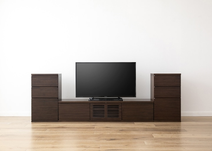 ルーバー・テレビボードv02 H v02 セット:画像18