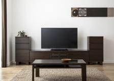 ルーバー・テレビボードv02 H v02セット