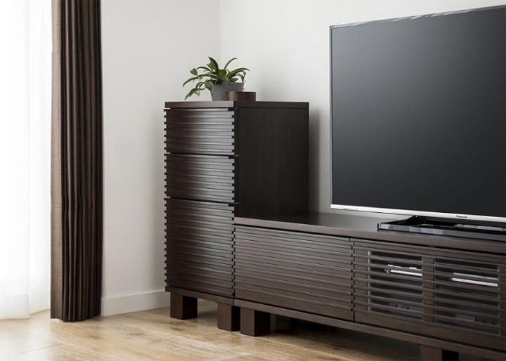 ルーバー・テレビボードv02 H v02 セット:画像3