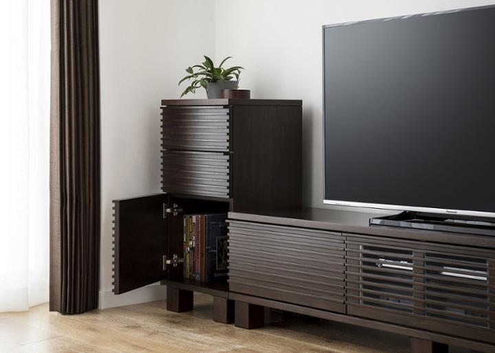 ルーバー・テレビボードv02 H v02 セット:画像4