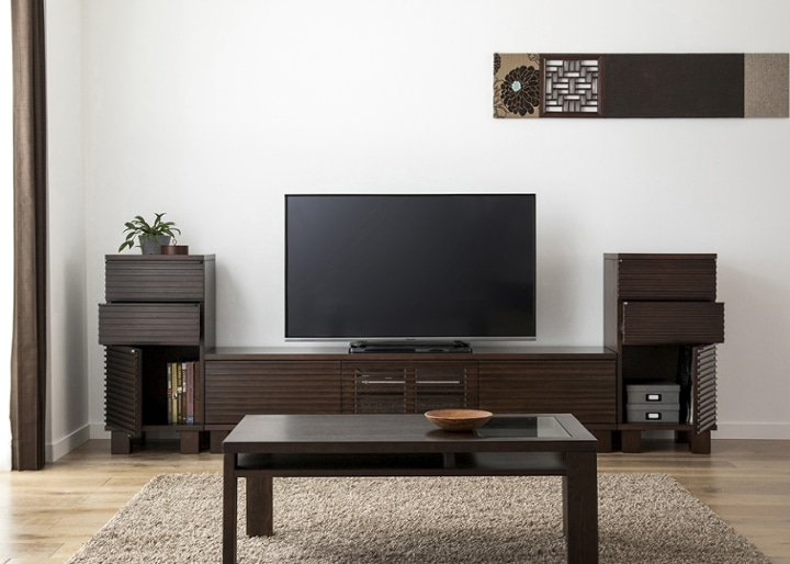ルーバー・テレビボードv02 H v02 セット:画像5