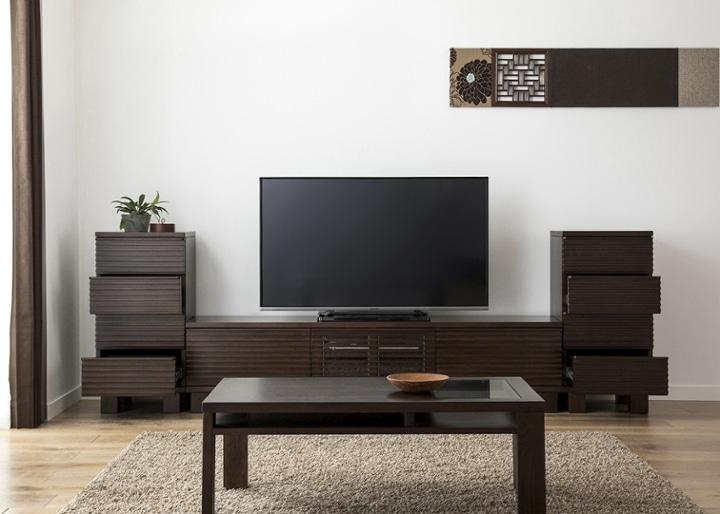 ルーバー・テレビボードv02 H v02 セット:画像6