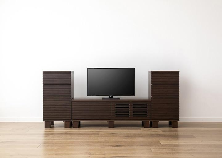 ルーバー・テレビボードv02 H v02 セット:画像8