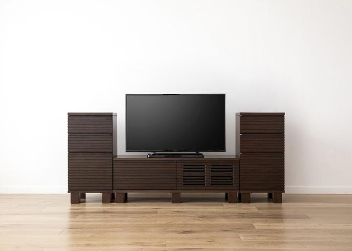 ルーバー・テレビボードv02 H v02 セット:画像9