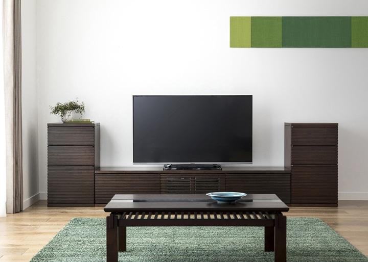 ルーバー・テレビボードv02 L v02セット:画像1
