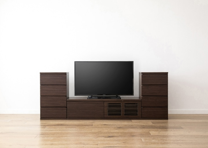 ルーバー・テレビボードv02 L v02セット:画像10