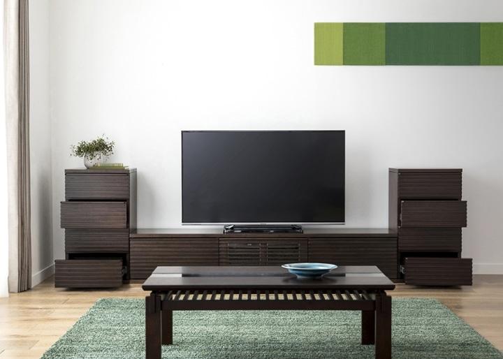 ルーバー・テレビボードv02 L v02セット:画像6