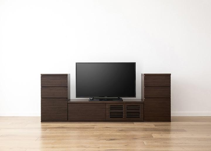 ルーバー・テレビボードv02 L v02セット:画像8