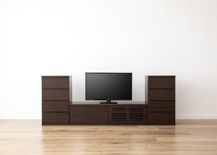 ルーバー・テレビボードv02 L v02セット:画像9